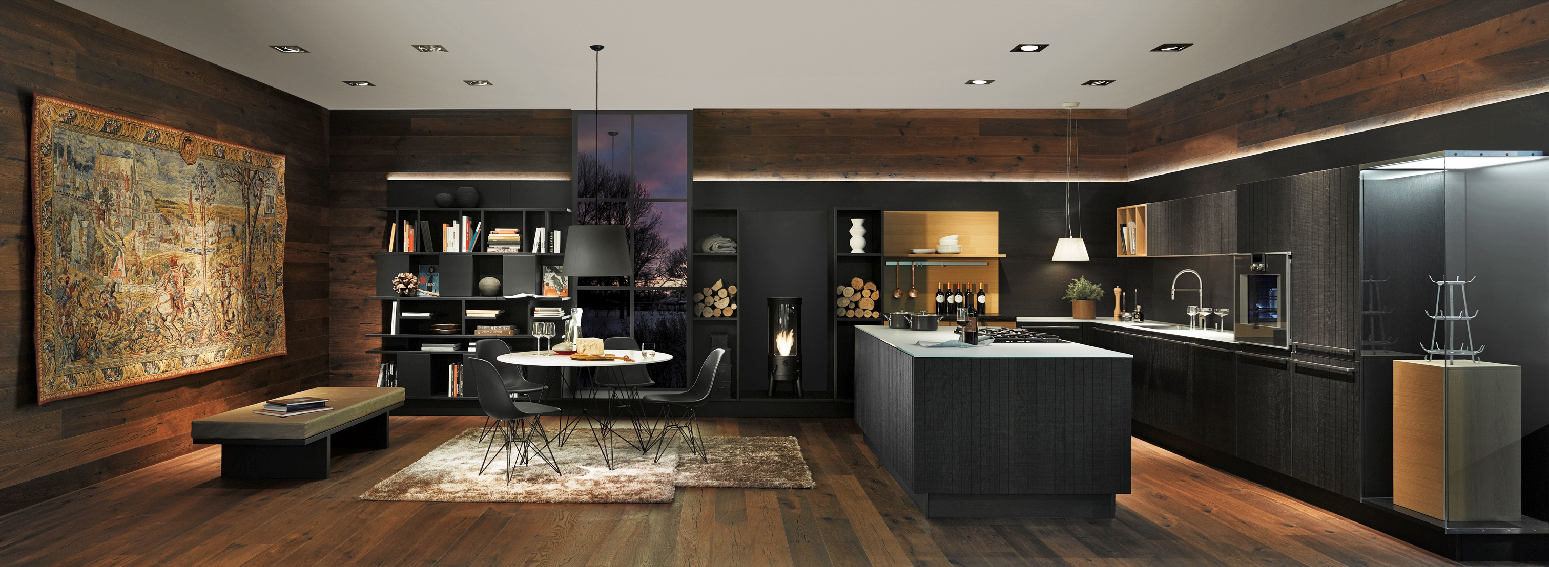 Neo chalet nolte home riga for Cucine moderne lineari lusso